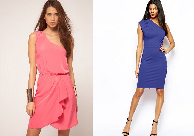 Vestito Monospalla Come Indossarlo E Fashion Tips