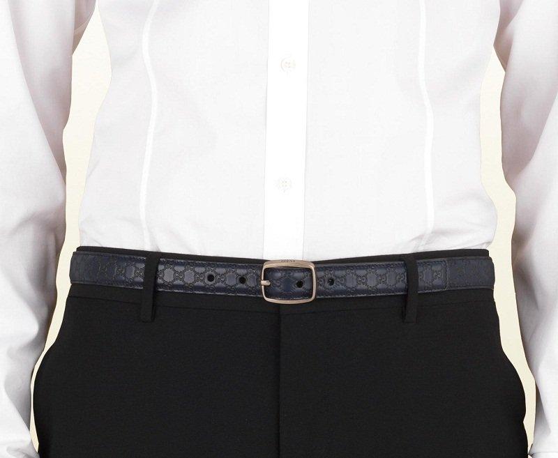cintura uomo come indossarla