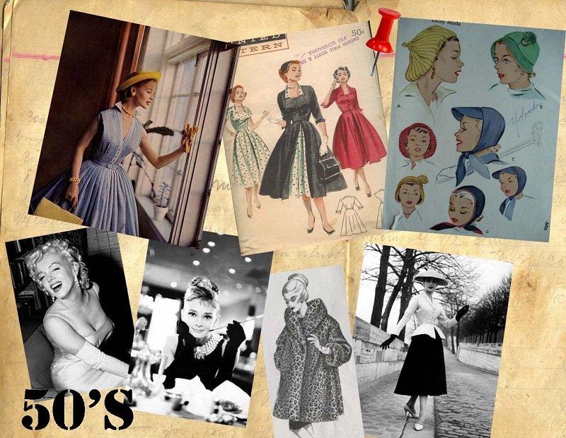vestiti anni 50 moda consigli di stile
