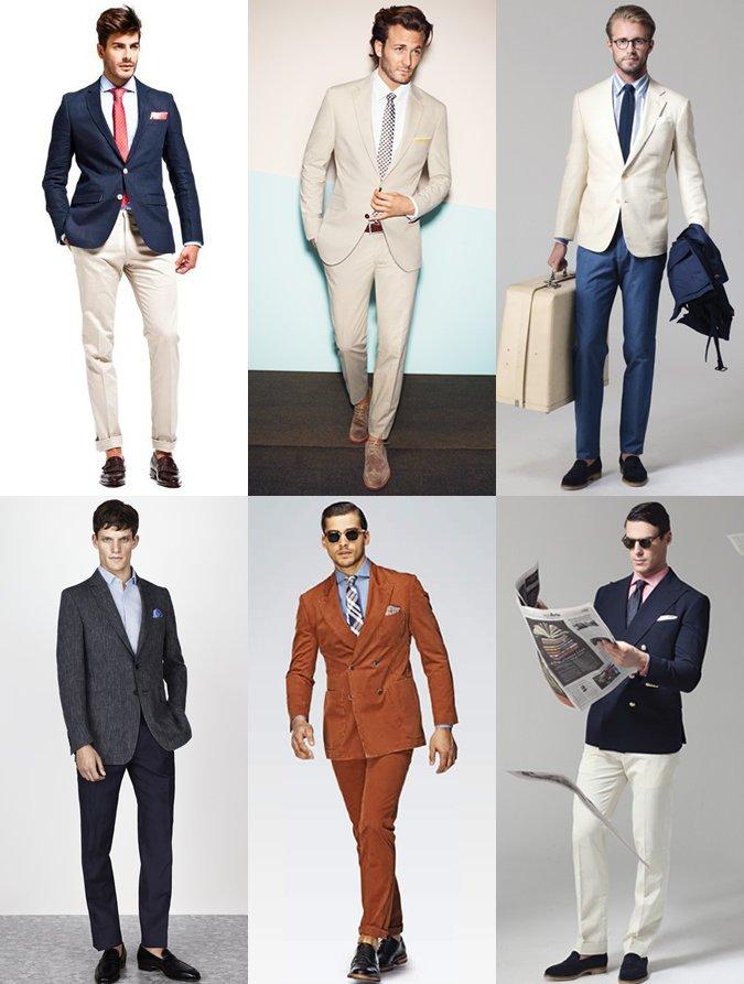Bien connu Abbigliamento ufficio estate uomo – Elegante vivono in Europa PD57