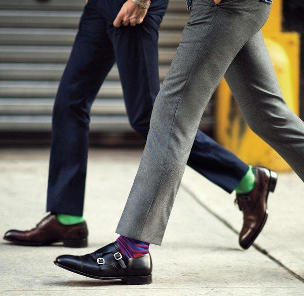 scarpe e calze da uomo