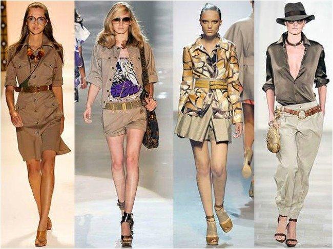 stile safari donna