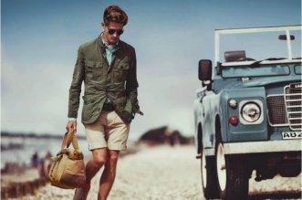 stile safari uomo