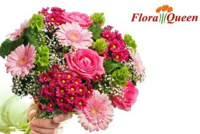 vestiti di fiori